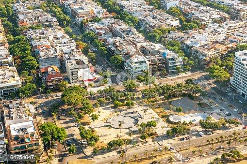 istock Praça do Ó in Barra da Tijuca District 1164754647