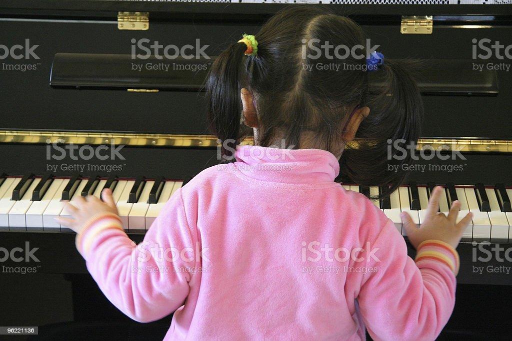 practice piano stock photo