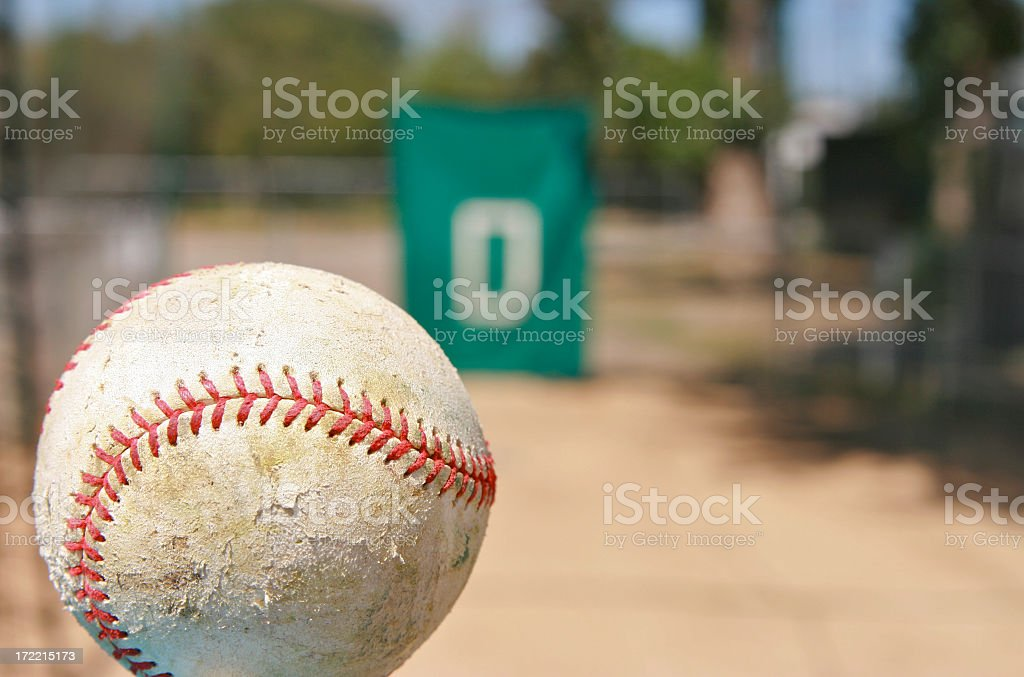 Practice Pitching stock photo