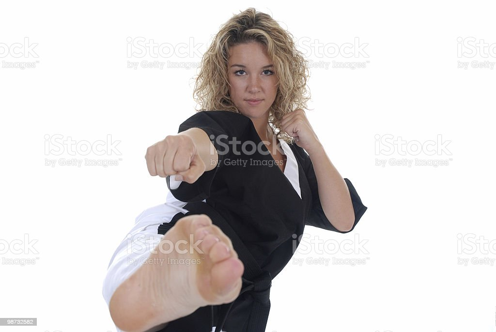 Practiced sport royalty-free stock photo