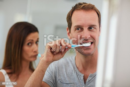 874030164 istock photo Practising good hygiene together 661610760