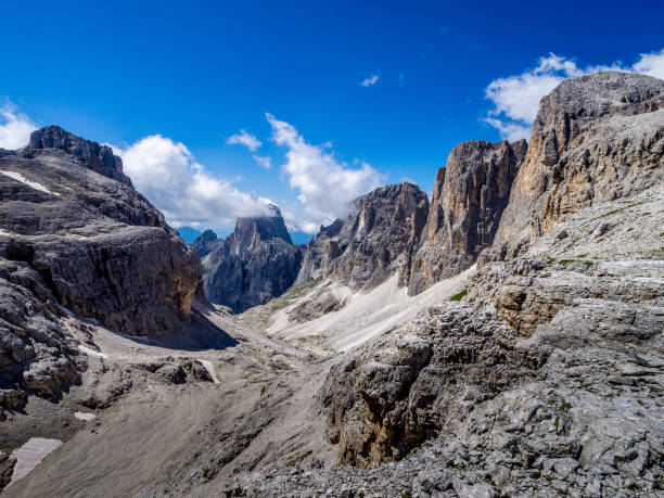 Pradidali - Dolomites - Italy stock photo
