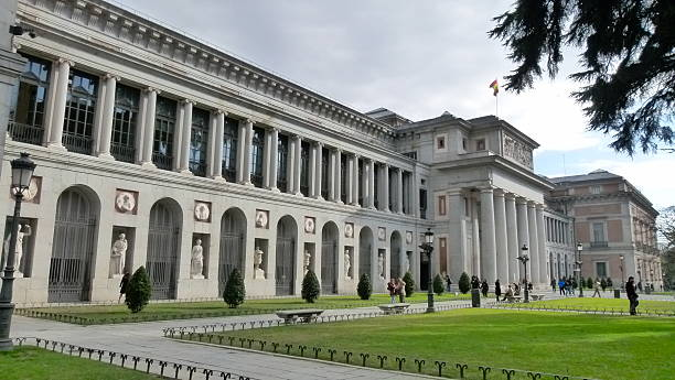 Prado museum stock photo