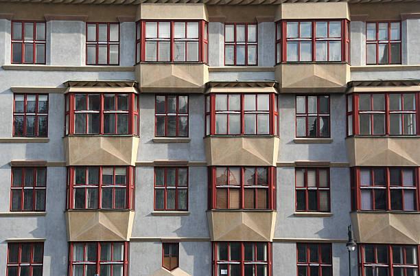 Prague Apartments stock photo