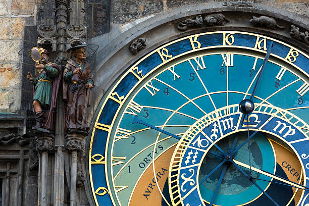 Prague Astronomical Clock Prague Astronomical Clock, Czech Republic astronomical clock prague stock pictures, royalty-free photos & images