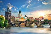 istock Prague at summer day 1097810660