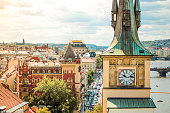 Praha, Cityscape, Old town, Dome, Roof