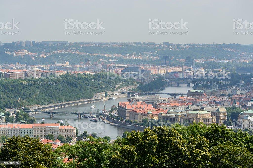 Pontes de Praga foto royalty-free