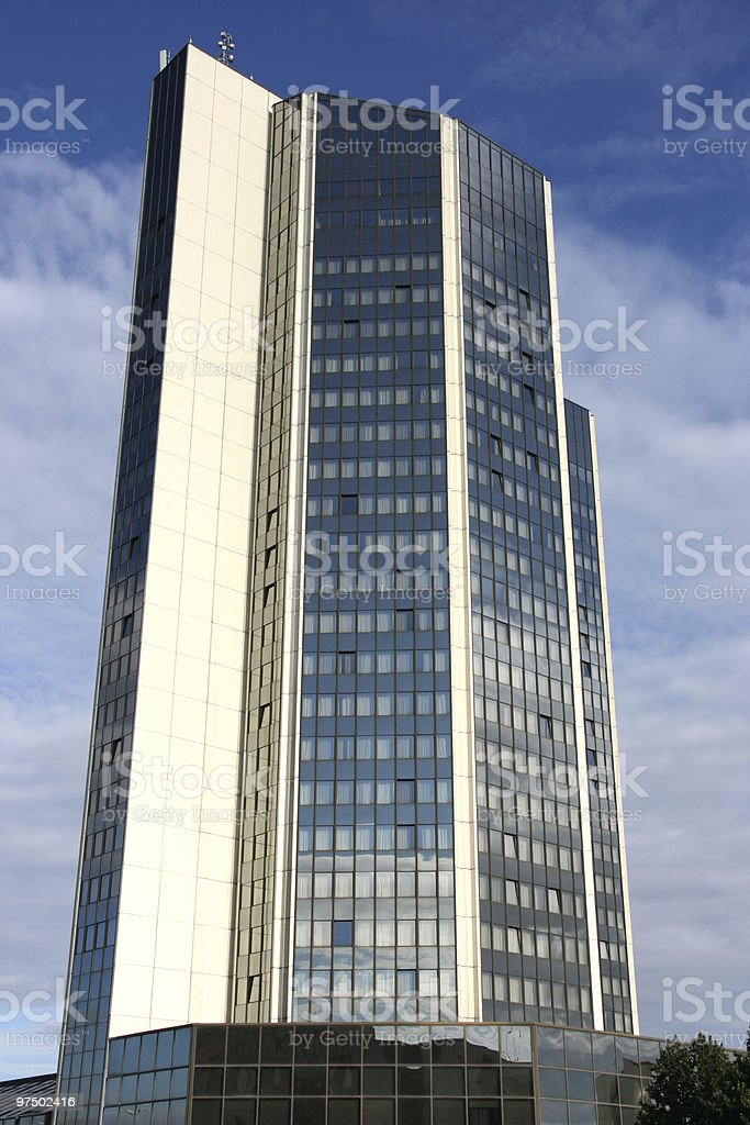Prague business royalty-free stock photo