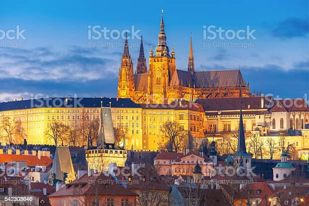 Photo of Prague Castle and Mala Strana, Czech Republic