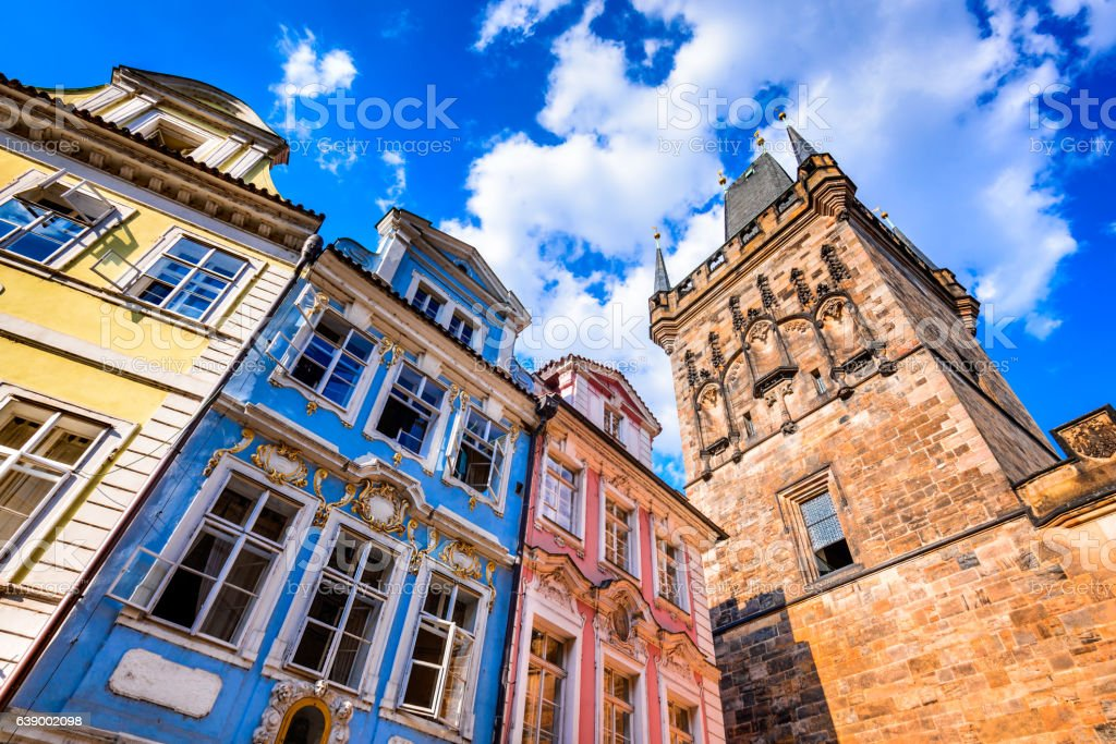 Prague Castle, Bohemia, Czech Republic stock photo