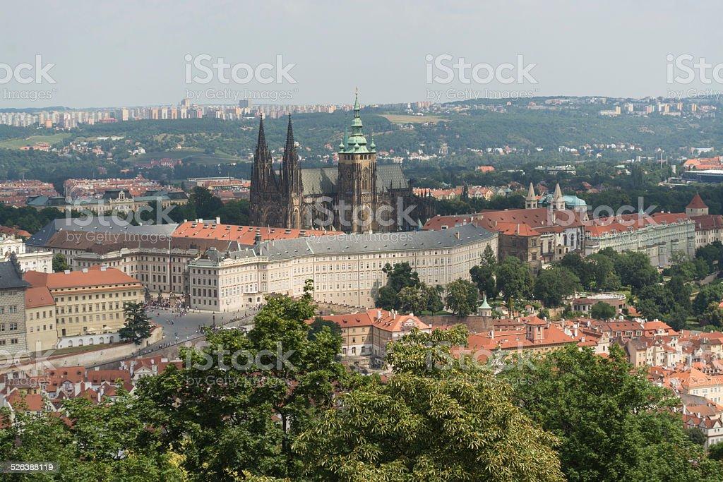 Bairro do Castelo de Praga foto royalty-free