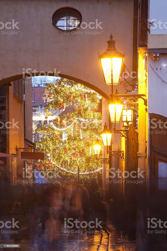 prague christmas royalty-free stock photo