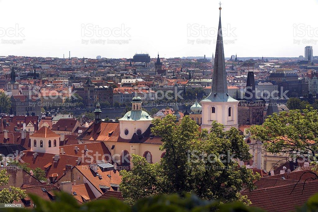 Prague Cityscape, Czech Republic royalty-free stock photo