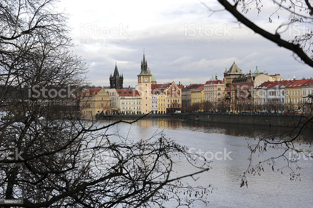 Prague cityscape royalty-free stock photo