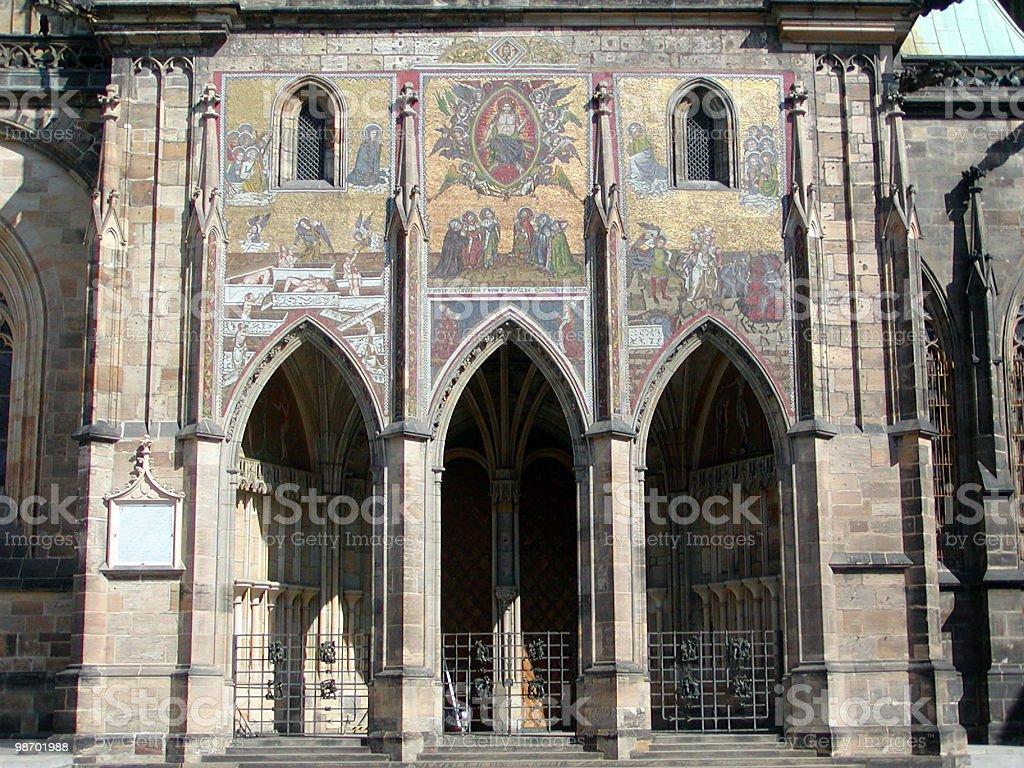 Corridoio di Praga foto stock royalty-free
