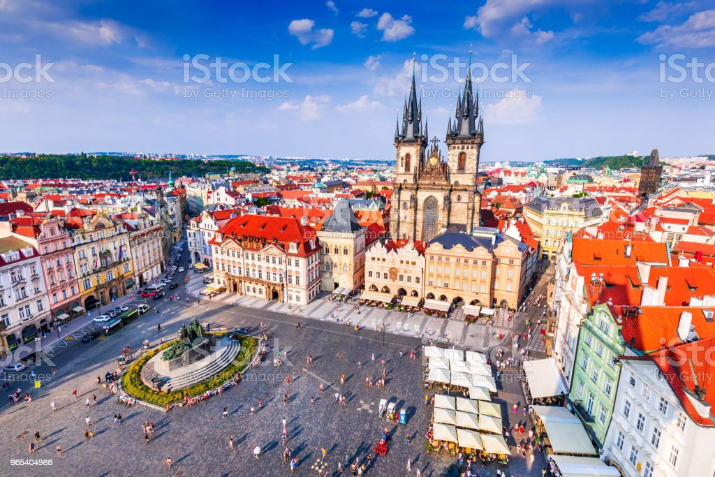 Prague, Czech Republic - Old Town royalty-free stock photo