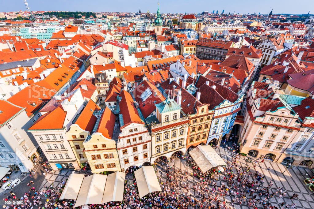Prague, Czech Republic - Old Town zbiór zdjęć royalty-free