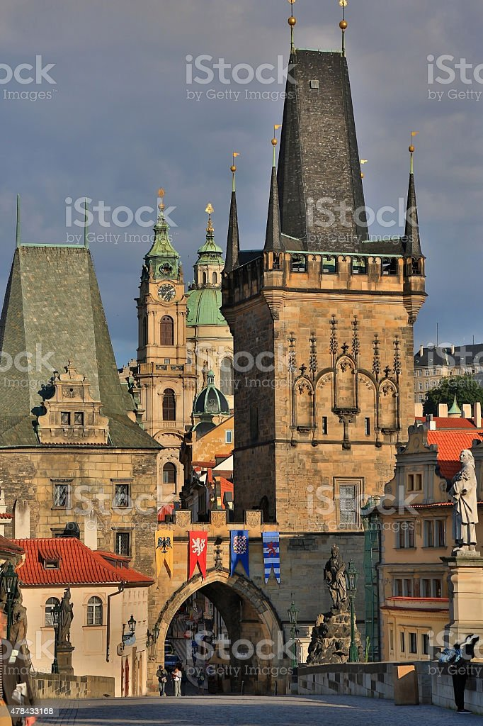 Prague, Czech Republic, Old Town Square stock photo