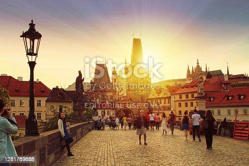 istock Prague, Czech Republic - 1281789888