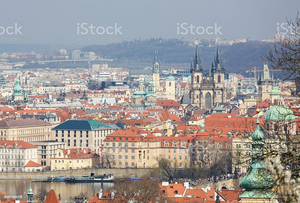 Prague, Czech Republic royalty-free stock photo