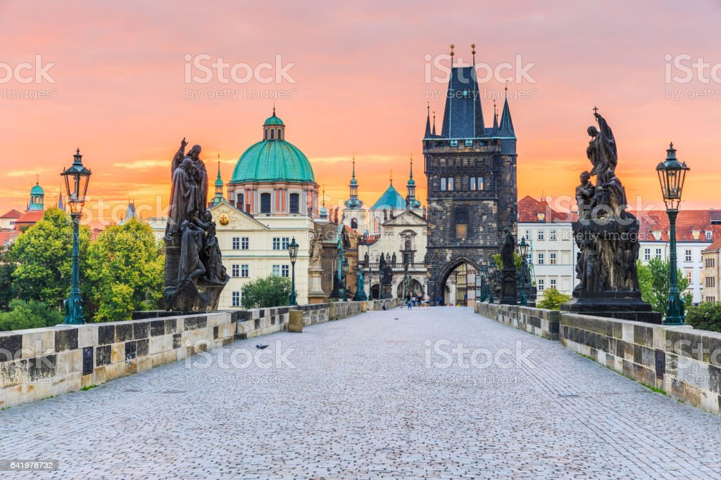 Prague, Czech Republic. stock photo