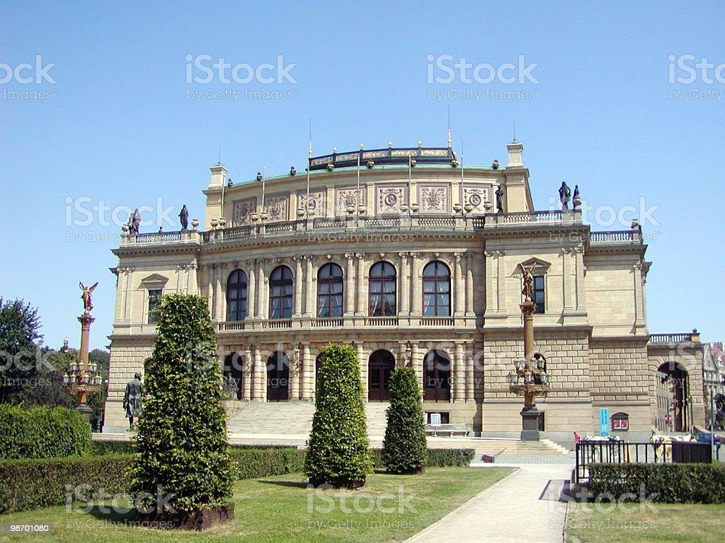 Praga House foto stock royalty-free