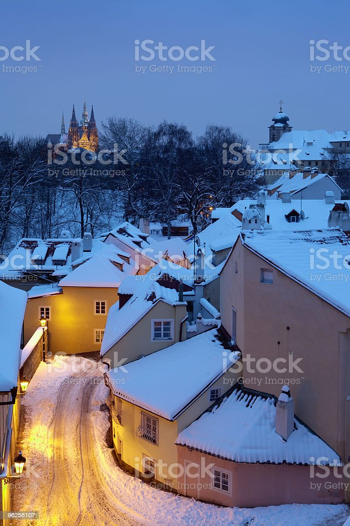 prague in winter - Royalty-free Architecture Stock Photo