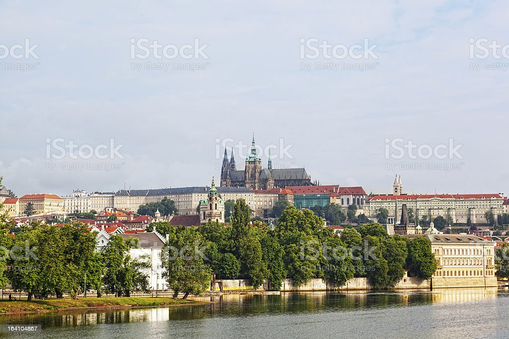 Prague, look on Gradchana royalty-free stock photo