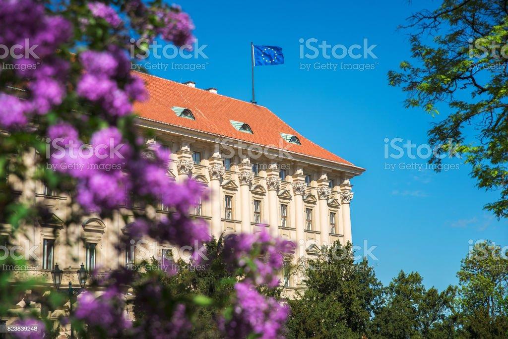 Prague old city stock photo