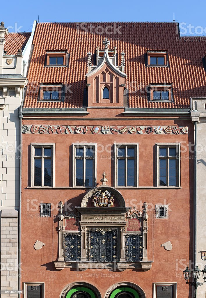 Prague - Old Town Hall royalty-free stock photo