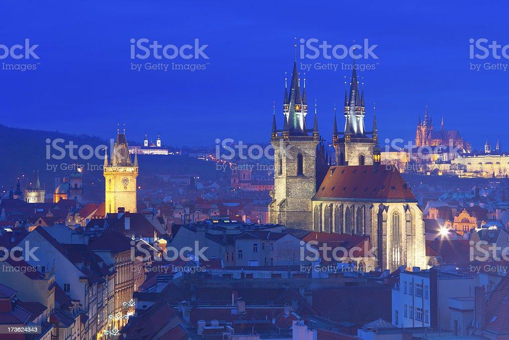 Prague Old Town royalty-free stock photo