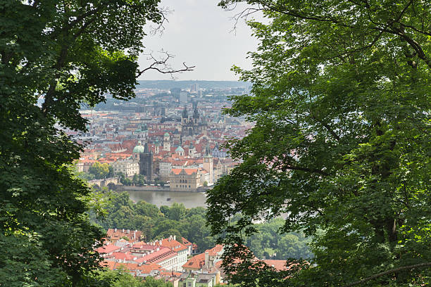 Prague Old Town - foto de acervo