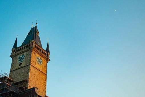 Praag Oude Stadsplein Stockfoto en meer beelden van Architectuur