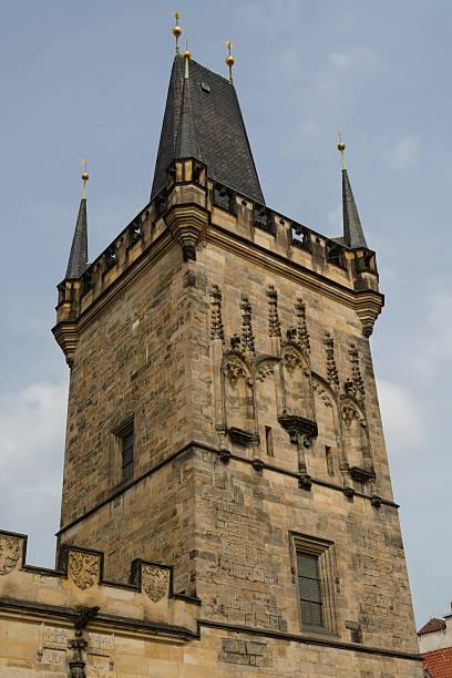 Torre da Cidade Velha de Praga - foto de acervo