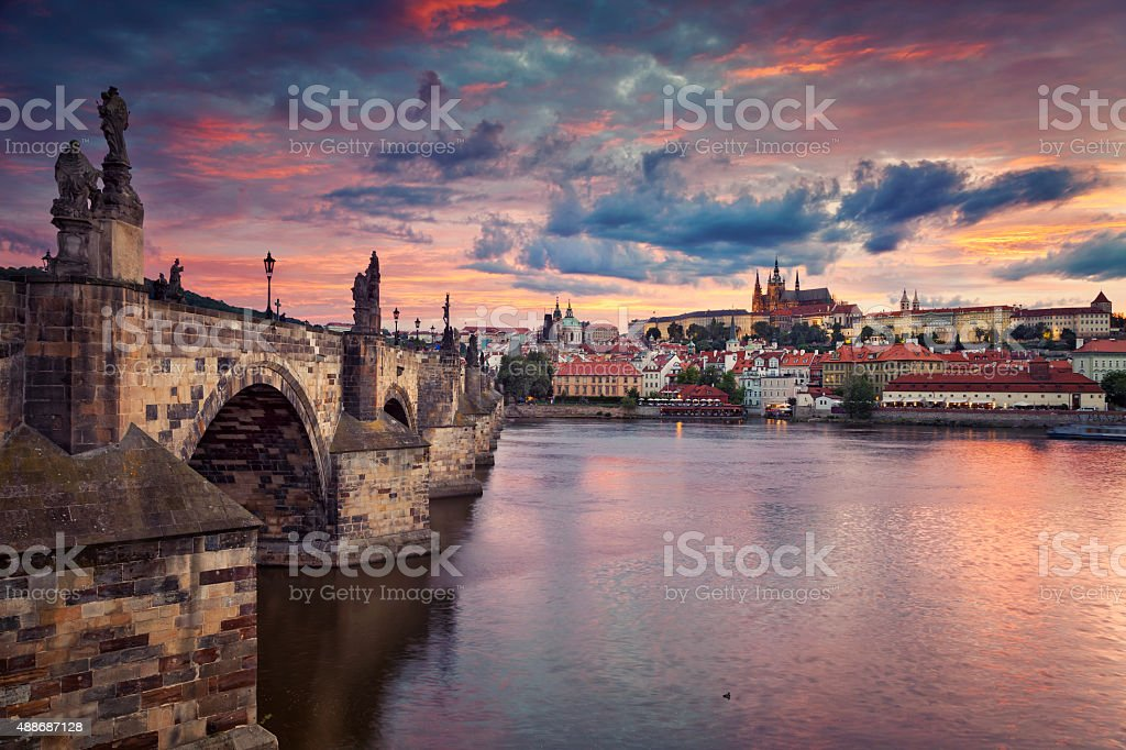 Prague. stock photo