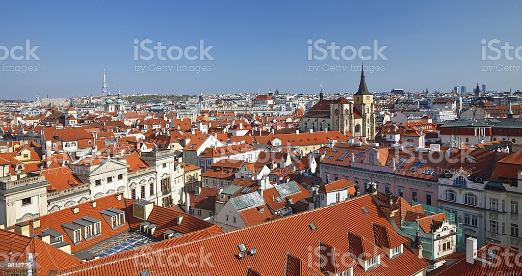 Praga foto stock royalty-free