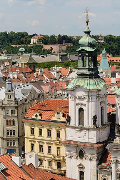 Telhados de Praga - foto de acervo