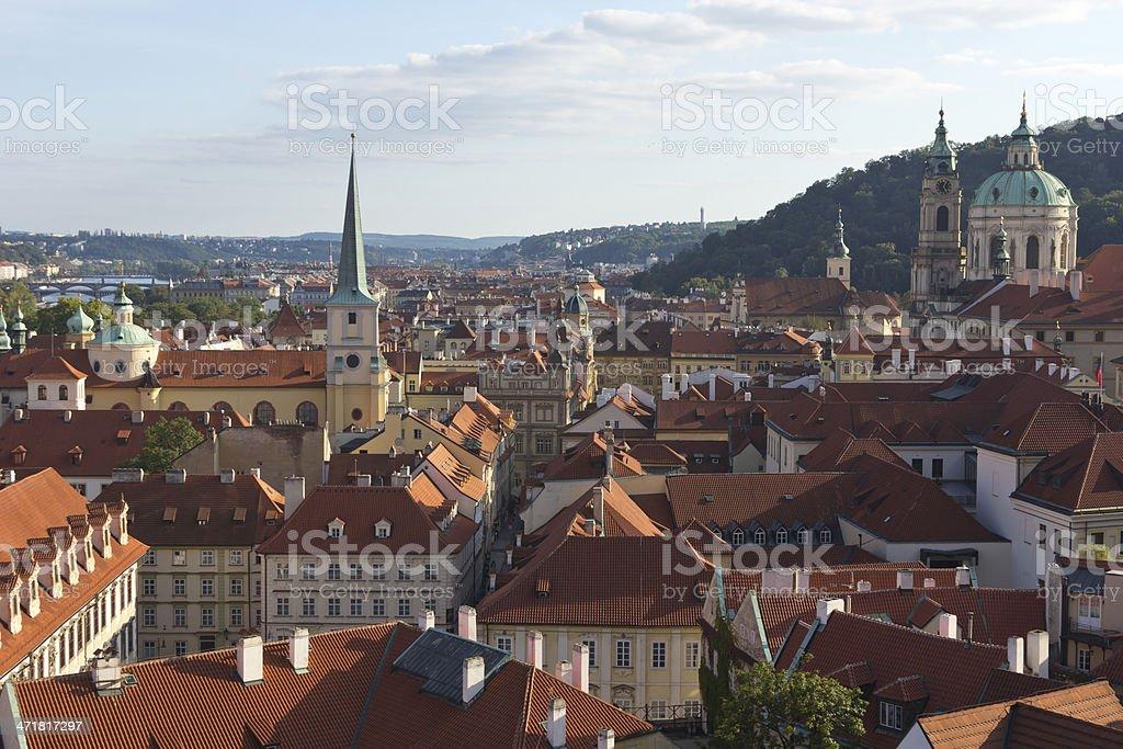 Prague Skyline royalty-free stock photo
