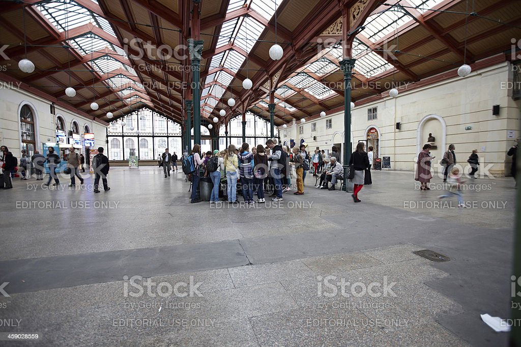 Prague station concourse royalty-free stock photo
