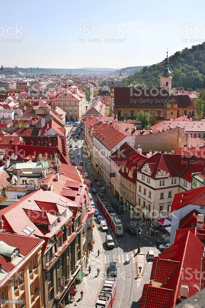 Prague street royalty-free stock photo