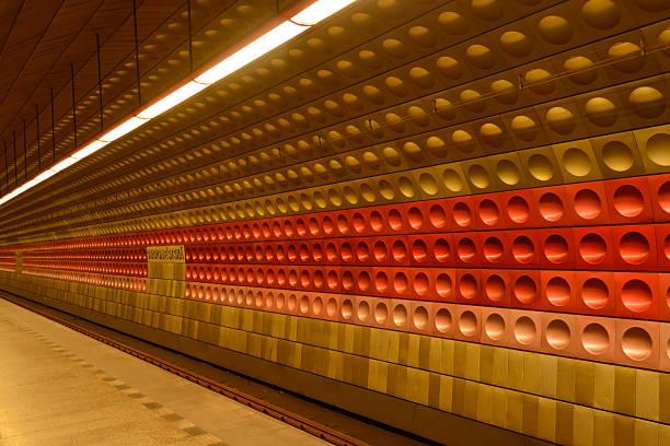 Metrô de Praga - foto de acervo