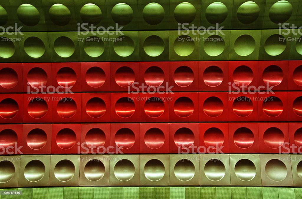 Prague - Subway Station. royalty-free stock photo