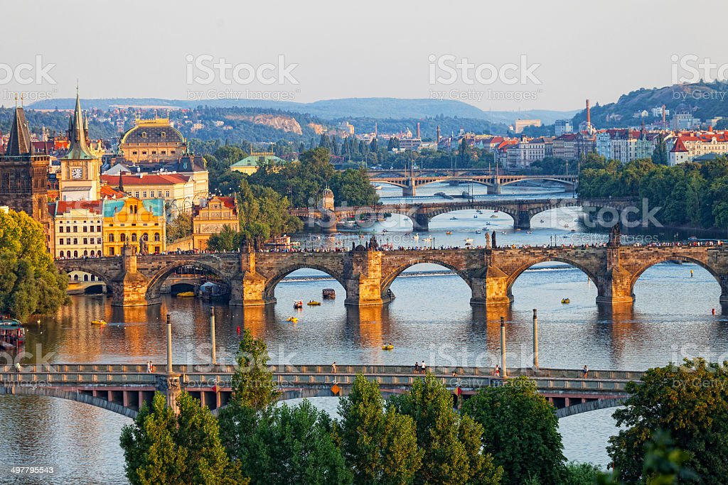 Prague, the Czech Republic stock photo
