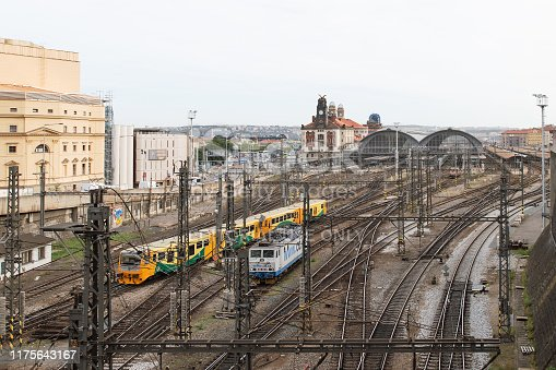 Prague, Czech Republic - 6 September 2019: Prague train station
