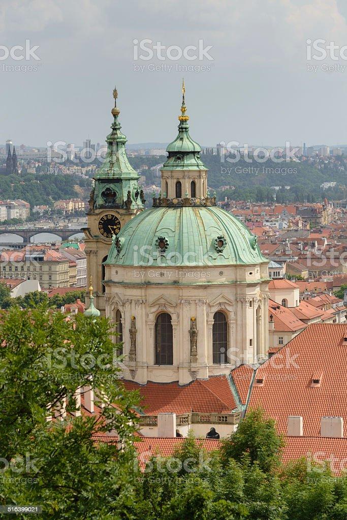 Vista de Praga - foto de acervo