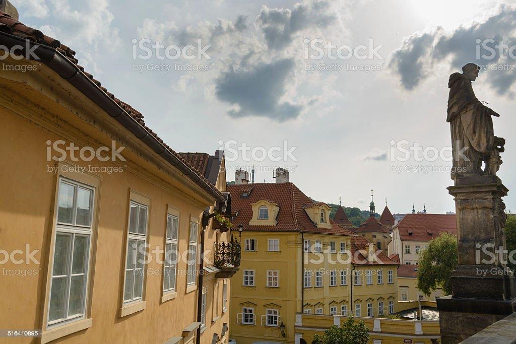 Vista de Praga foto royalty-free