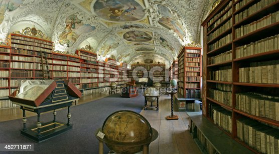 istock Prague-baroque library 452711871