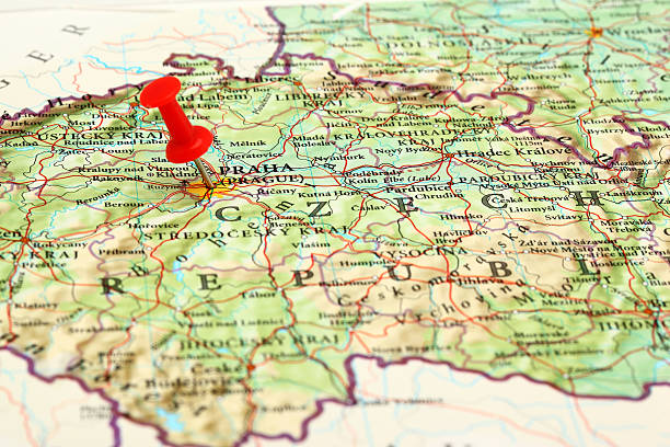 Royalty Free Czech Republic Map Pictures, Images and Stock Photos ...