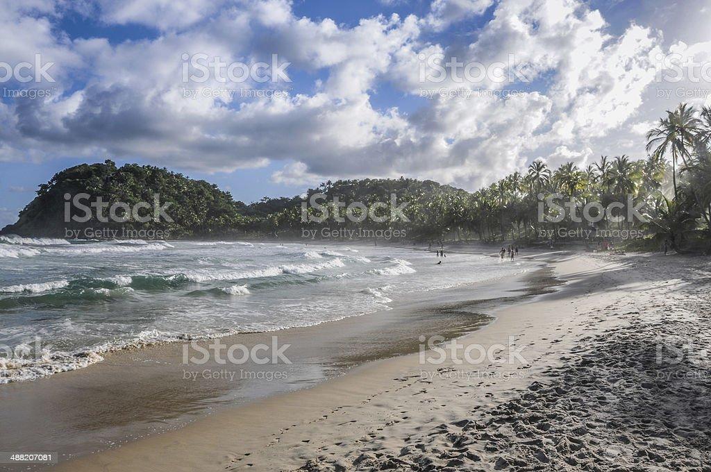 Prahinia beach Brazil stock photo